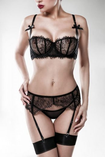 3-piece lingerie set 15121 - XL