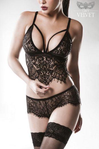 2-piece lace set 15122 - XL/2XL