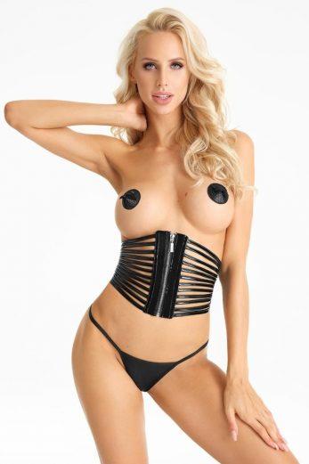 black corset CR404 - XL