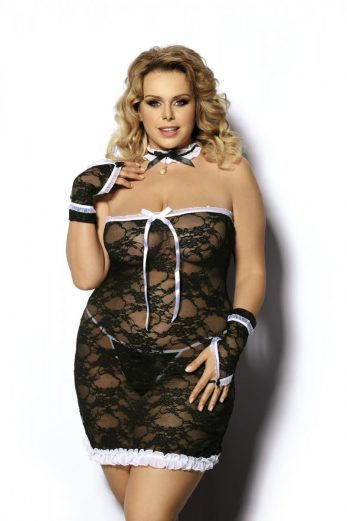 4-piece maid outfit AA051744 - 5XL/6XL