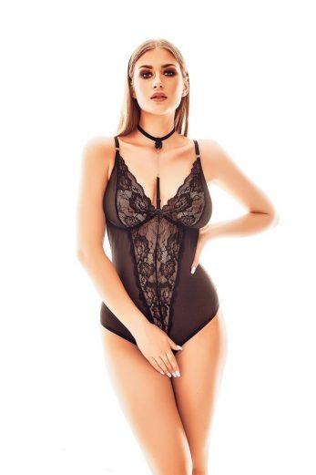 black ouvert Body AA052250 - 2XL/3XL
