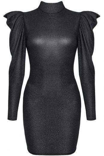 black mini dress CADR005 - XL