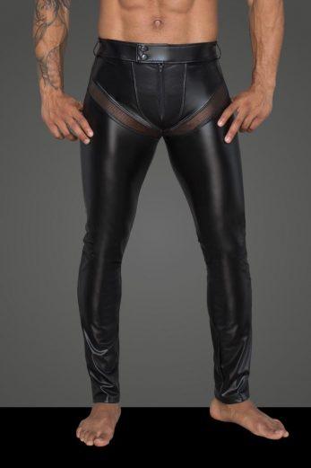 Men's powerwetlook long pants H059 - 3XL