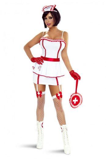7pcs Nurse Costume PR1302 - S/M