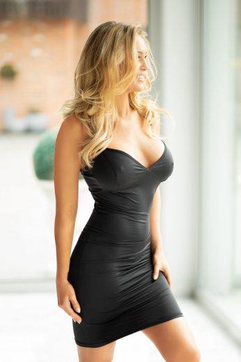 black mini dress KA921844 - 2XL