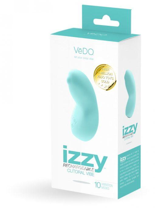 Izzy Tease Me Turquoise