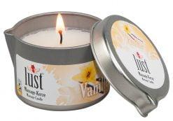 Vaniljan tuoksuinen hierontakynttilä - Lust
