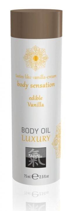 Vaniljan makuinen Luxury Body Oil - Shiatsu