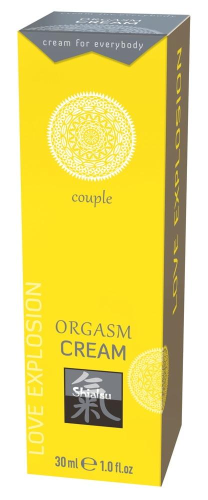 Shiatsu Orgasm Cream