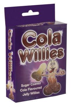 Cola Willies - kikkelin mallisia nannoja