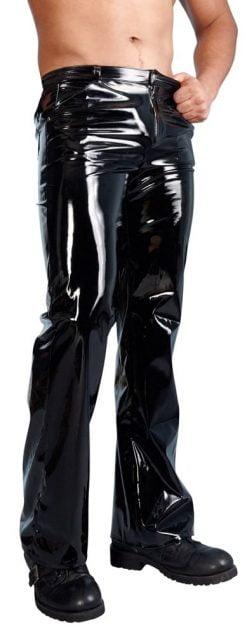 Miesten pitkät pvc housut