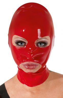 Latex Head Mask red